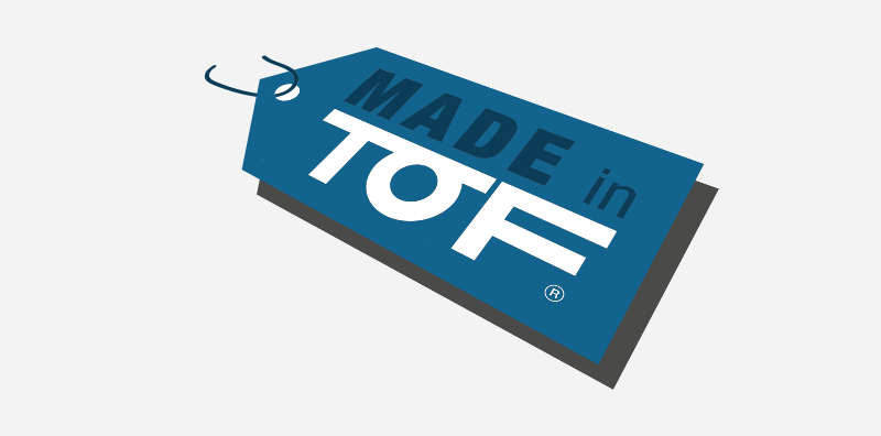 100% MADE IN TOF